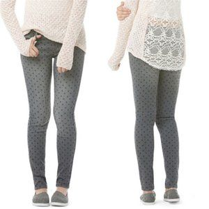 Bethany Mota Polka Dot Ankle Jeggings